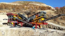 Fabo mck-60 mobile crushing screening plant | usine de concassage et criblage mobile 60-80 tph | hard stone