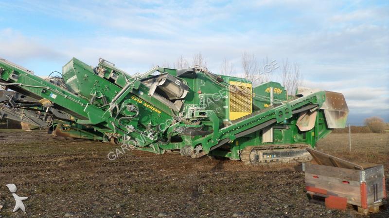 Concassage, recyclage McCloskey J45R