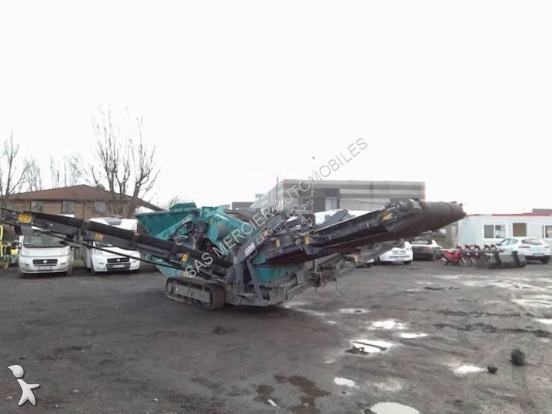 Concassage, recyclage Terex E PPOWERSCREEN WARRIOR 600