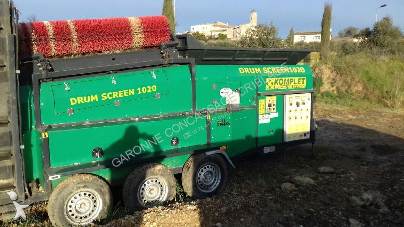 Concassage, recyclage Komplet Lem DRUM SCREEN 1020
