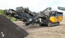 Fabo FTI-100 Mobile tracked crushing & screening plant | tracked impact crusher 250 tph