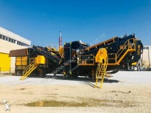 Fabo pro-150 mobile crushing&screening plant|concassage et criblage mobile|calcaire/limestone|pret en stock|turbo impact crusher