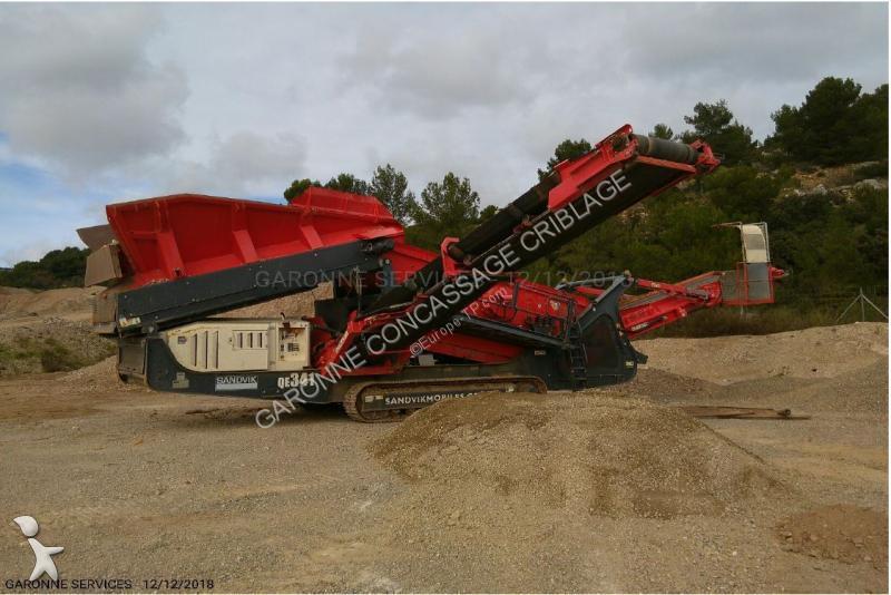 Concassage, recyclage Sandvik QE 341