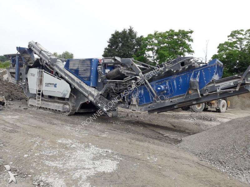 Concassage, recyclage Kleemann MR110Z EVO2