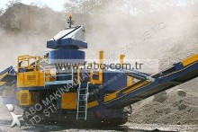 Fabo concasseur à percussion à axe vertical FTV-900 | 350 tph| tracked vertical shaft impact crusher FTV-900 |for sale