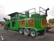 used waste shredder