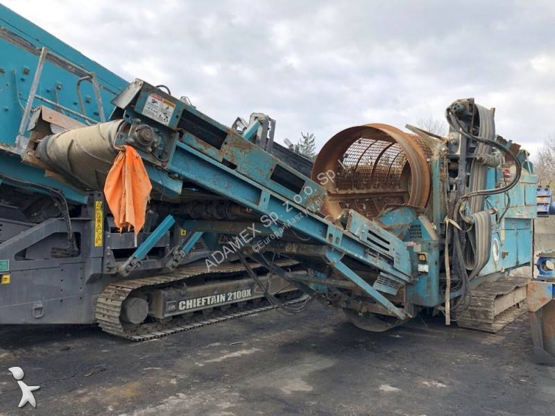 View images Powerscreen Trommel 511 crushing, recycling