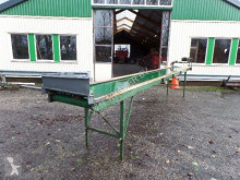 CM Vlakke band / transportband 6 meter lang 60 breed crushing, recycling
