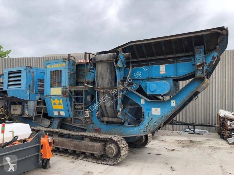 View images Terex Pegson METROTRAK crushing, recycling