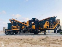 Fabo mck-90 usine de concassage et criblage mobile toutes types de pierre durs| crushing screening plant mobile for hard stone