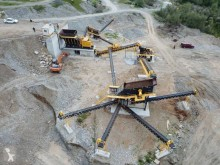 Fabo 600 TPH INSTALLATION FIXE DE CONCASSAGE ET DE CRIBLAGE|STATIONARY TYPE 600 T/H CRUSHING & SCREENING PLANT