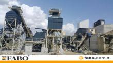 Fabo - STATIONNAIRE USINE DE CONCASSAGE ET CRIBLAGE 500TPH|GRANITE-BAZA neuf