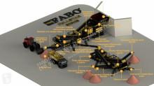 Fabo - FULLSTAR-90 Unité de concassage et de criblage mobile pierre dur neuf