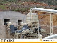 Fabo STATIONARY TYPE 600 T/H CRUSHING & SCREENING PLANT**Jaw Crusher