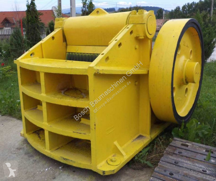 Vedeţi fotografiile Concasare, reciclare Ibag 1000 x 350 mm Jaw crusher / Backenbrecher