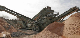 britadeira, reciclagem Powerscreen Powerscreen Chieftain Turbo – mobile screen / Mobile Siebane