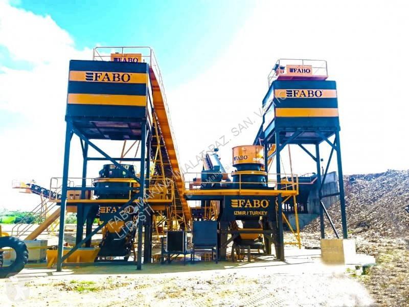 Voir les photos Concassage, recyclage Fabo  INSTALLATION DE CONCASSAGE ET CRIBLAGE FIXE 250-350 T/H POUR BASALTE ET GRANITE