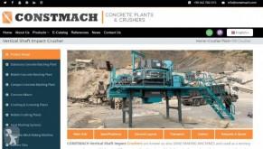 Vedeţi fotografiile Concasare, reciclare Constmach VERTICAL SHAFT IMPACT CRUSHER - 150 tph CAPACITY