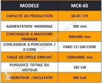 Vedeţi fotografiile Concasare, reciclare Fabo  mck-65 concassage et criblage mobile pierre dur | mobile crushing & screening plant | granite-bazalte-gabbro- hard stone| Cone Crusher