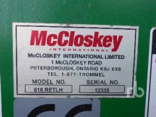 Voir les photos Concassage, recyclage McCloskey 616RETLH