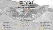View images Fabo  PRO 150 Concassage-criblage mobile| Mobile Crushing Plants| Mobile Impact Crusher Plant crushing, recycling