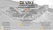 View images Fabo mck-90 usine de concassage et criblage mobile toutes types de pierre durs| crushing screening plant mobile for hard stone crushing, recycling