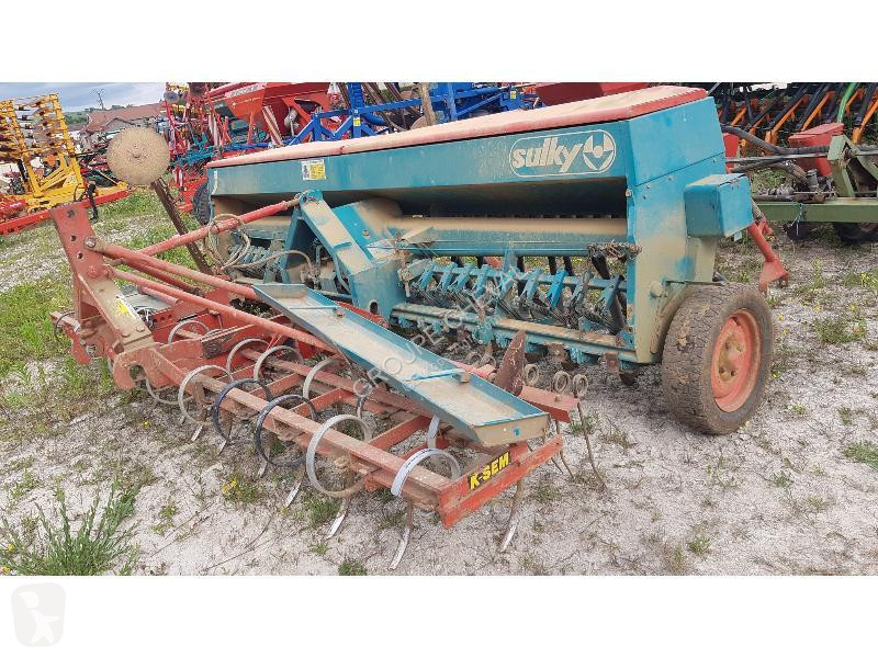 View images Sulky GC 4M TRAMLINES seed drill