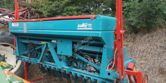 Sulky tramelines seed drill