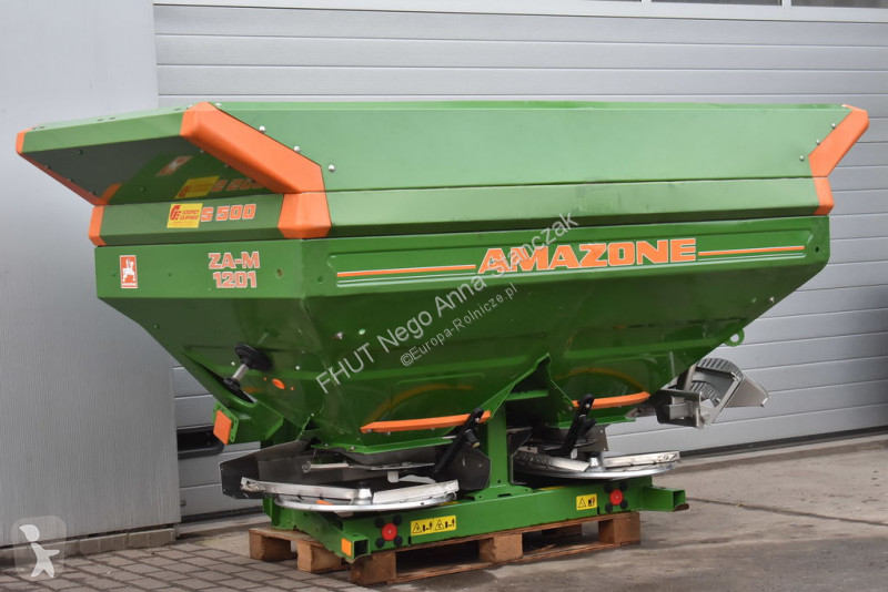 Épandage Amazone ZA-M 1200 NOVIX 2700 L *2012* SBS