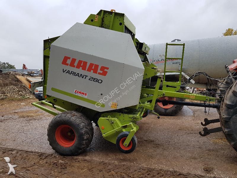 Claas VARIANT 280 haymaking