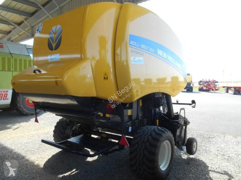 New Holland Rollbelt 150 Filet Elite haymaking