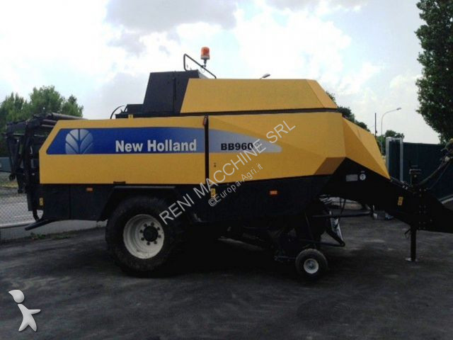 New Holland  haymaking