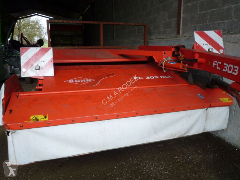View images Kuhn FC313 RGL haymaking