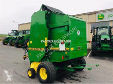 View images John Deere 590 haymaking