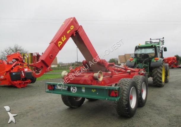 Benne agricole nc porte caisson ampiroll deguillaume dr10 for Porte agricole