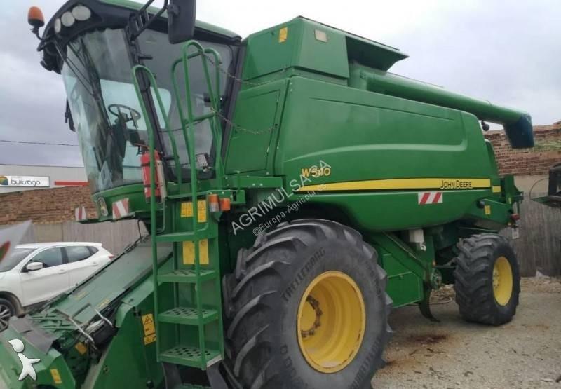 John Deere W540 harvest