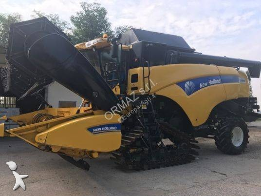 New Holland CX8050 harvest