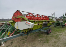 mietitura Claas heder C600