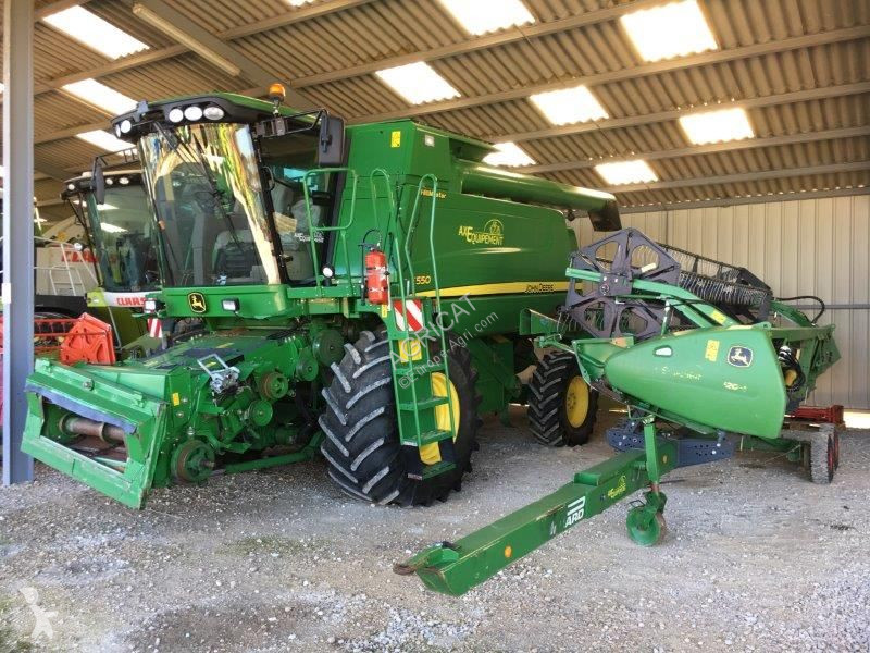 View images John Deere T550HM harvest
