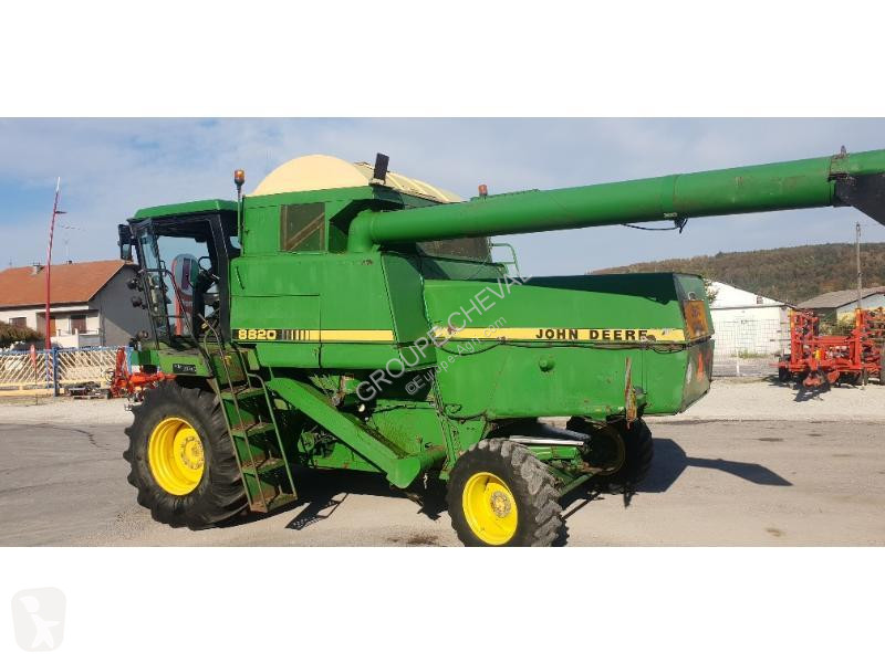 moissonneuse-batteuse john deere 8820 occasion
