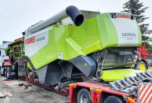 View images Claas LEXION 510 - V600 harvest