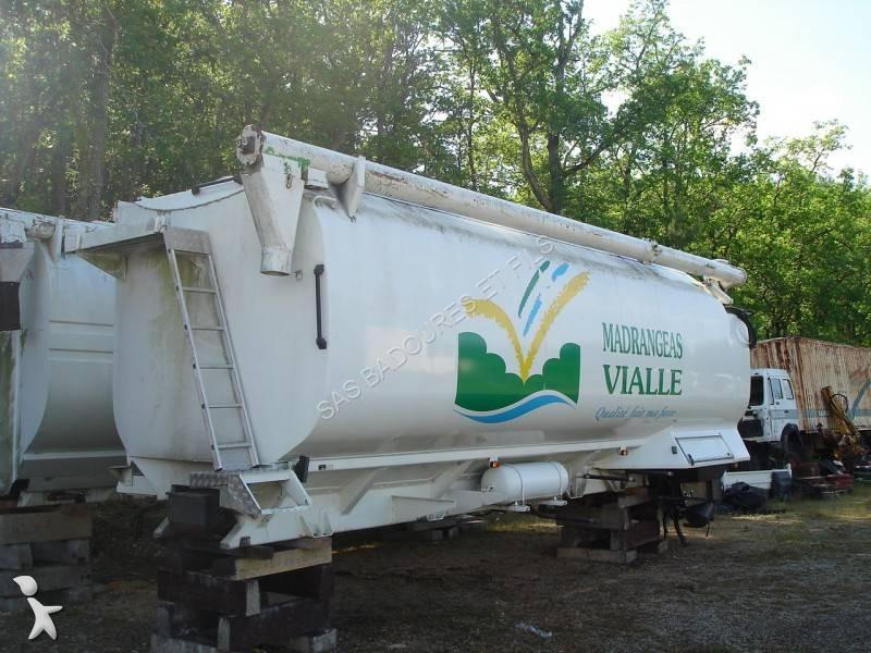 Uitrusting voor vrachtwagens Badoures Citerne Alimentaire Vrac Aluminium