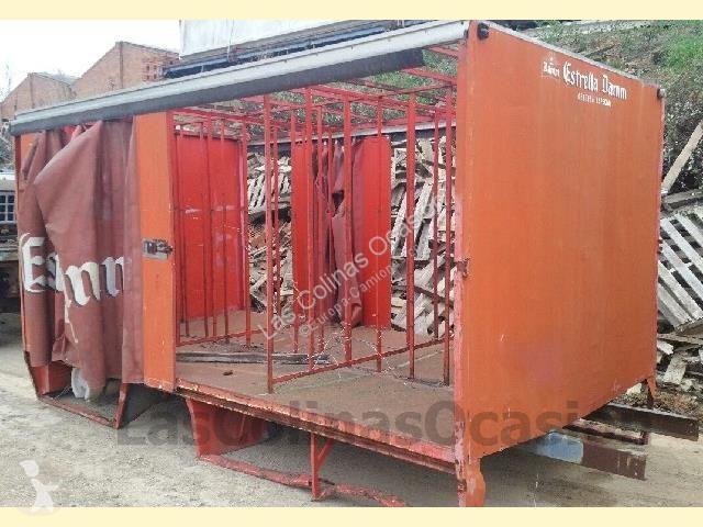 Uitrusting voor vrachtwagens onbekend Carrosserie bâchée