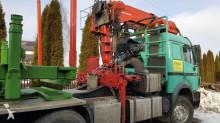 wyposażenie ciężarówek wysięg pomocniczy Effer