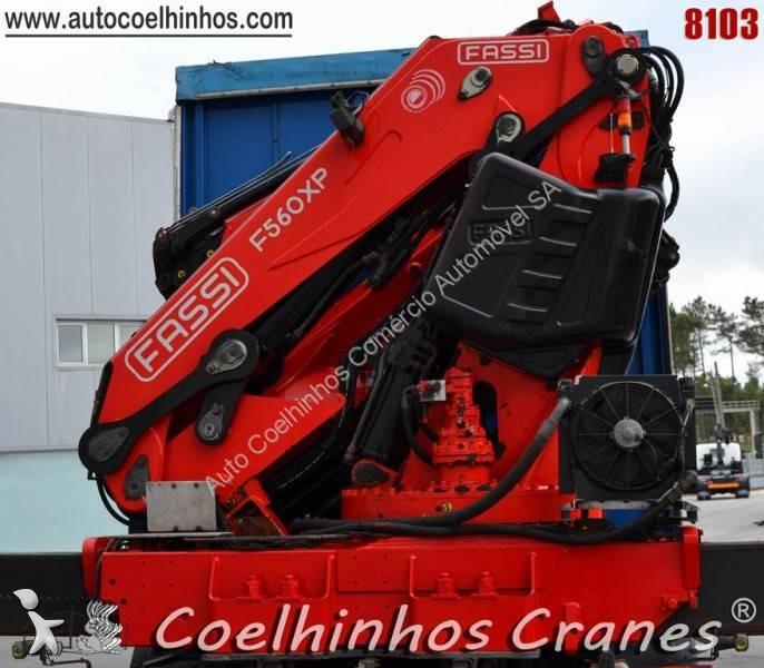 Zobaczyć zdjęcia Wyposażenie ciężarówek Fassi F560 XP