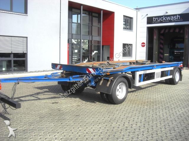 Meiller G 18ZB 5,0 / BPW-Achsen / 2 Achsen Lkw Ausrüstungen