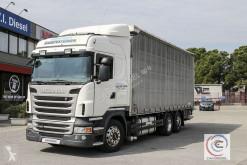 cassone centinato alla francese Scania