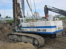 Soilmec CM 120 CFA drilling, harvesting, trenching equipment
