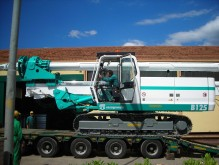 Casagrande B125 drilling, harvesting, trenching equipment