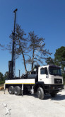 MAN drilling vehicle drilling, harvesting, trenching equipment